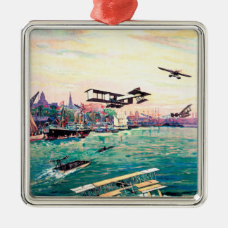 Cancelled Float Plane Promotional Poster Christmas Ornaments