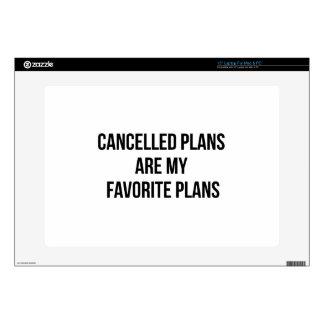 Cancelled Plans Laptop Skin