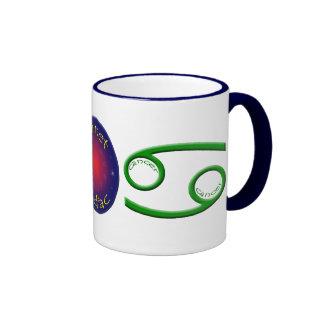 Cancer 16oz Mug w Navy Trim