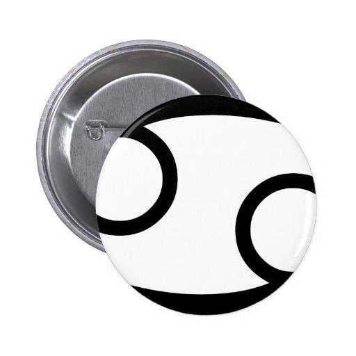 Cancer 2 Inch Round Button
