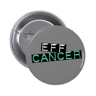 cáncer a cuadros del EFF Pin