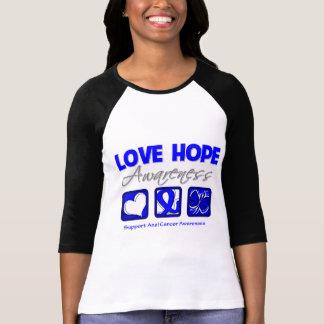 Cáncer anal de la conciencia de la esperanza del camisetas