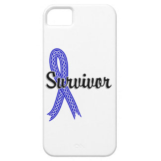 Cáncer anal del superviviente 17 funda para iPhone 5 barely there