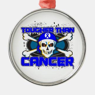 Cáncer anal más duro que el cráneo del cáncer ornamento para arbol de navidad