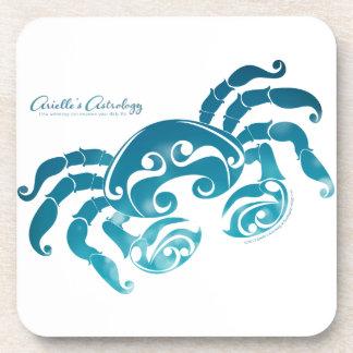 Cancer Astrology Cork Coaster