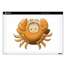 Cancer AstrologyBaby - medium skin - Skin For Laptop