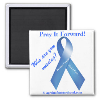 Cancer Awareness 2 Inch Square Magnet