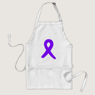 Cancer awareness adult apron