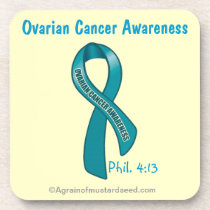 Cancer Awareness Coaster