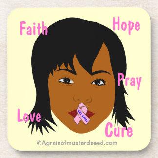 Cancer Awareness Coaster