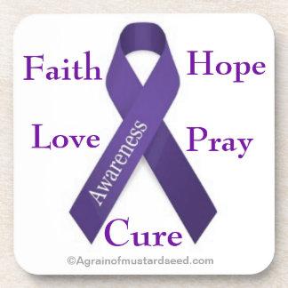 Cancer Awareness Coasters