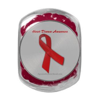 Cancer Awareness Glass Jar