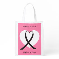Cancer Awareness  - Grocery, Gift, Favor Bag - SRF