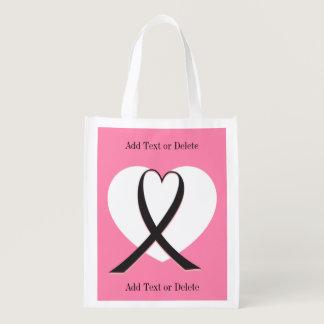 Cancer Awareness  - Grocery, Gift, Favor Bag - SRF