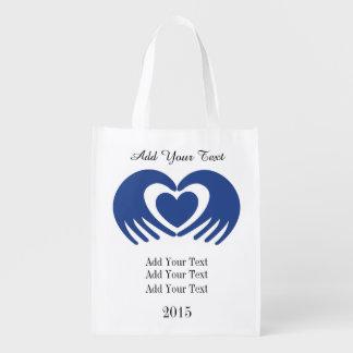 Cancer Awareness Grocery, Gift, Favor Bag - SRF