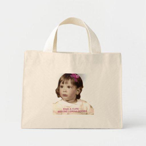 cancer awareness item tote bags
