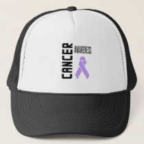 Cancer Awareness Lavender (all cancer) Hat