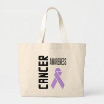 Cancer Awareness Lavender (all cancer) Tote Bag