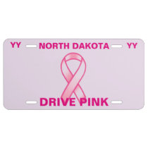 CANCER AWARENESS LICENSE PLATE