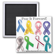 Cancer Awareness Magnet