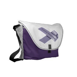 Cancer Awareness Messenger Bag