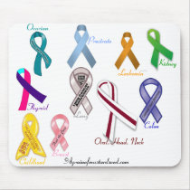 Cancer Awareness Mouse Pad