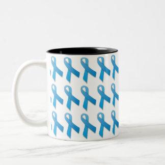 Cancer Awareness Mug - Blue Prostate Cancer