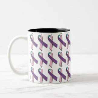 Cancer Awareness Mug - Thyroid Cancer