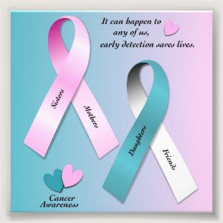 Cancer Awareness Photo Print