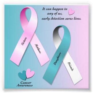 Cancer Awareness Art Photo