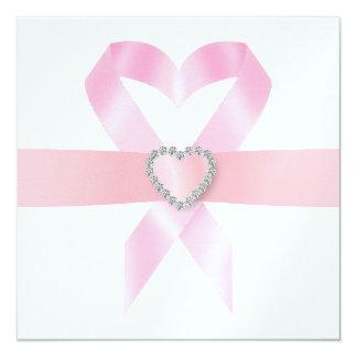 Cancer Awareness - Pink Ribbon Card