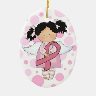 Cancer Awareness Pink Ribbon  - SRF Ceramic Ornament