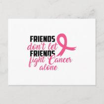 Cancer Awareness Ribbon Shirt Postcard