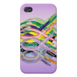 Cancer Awareness Ribbons iPhone 4 Covers