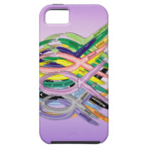 Cancer Awareness Ribbons iPhone SE/5/5s Case