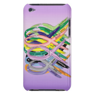 Cancer Awareness Ribbons iPod Case-Mate Case