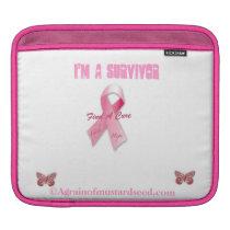 Cancer Awareness Sleeve For iPads