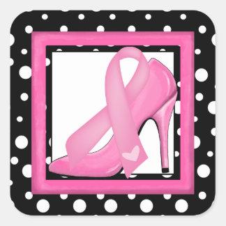 Cancer Awareness Square Sticker