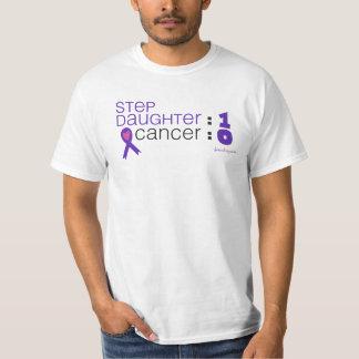 Cancer Awareness - Stepdaughter : 1 Cancer : 0 T-Shirt