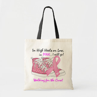 Cancer Awareness Tote by SRF Budget Tote Bag