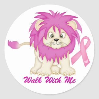 Cancer Awareness -Tracy's Lion by SRF Stickers