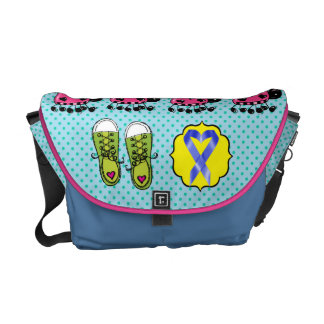 Cancer Awareness - Walk For the Cure Courier Bag