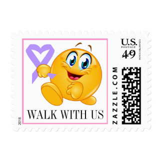 Cancer Awareness - Walk for the Cure - srf Postage