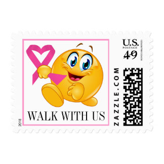 Cancer Awareness - Walk for the Cure - srf Stamps