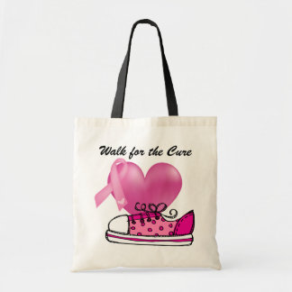 Cancer Awareness - Walk for the Cure Tote Bag