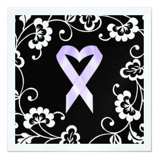 Cancer Awareness - White Ribbon Card