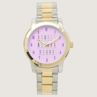 CANCER AWARENESS WRIST WATCHES