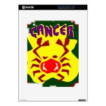 Cancer Badge iPad 2 Skins