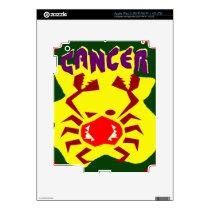 Cancer Badge Skin For iPad 3