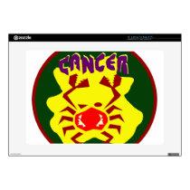 Cancer Badge Skin For Laptop
